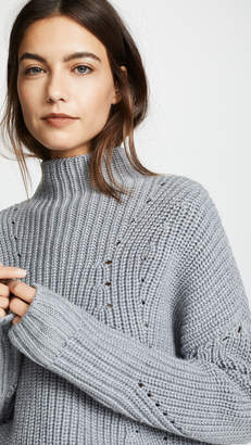 Jason Wu Grey Turtleneck Sweater