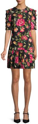 Dolce & Gabbana Embellished Floral Dress