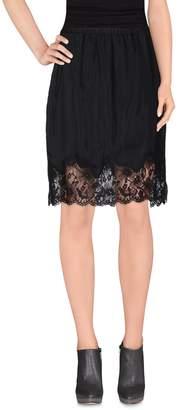 Gold Hawk Knee length skirts