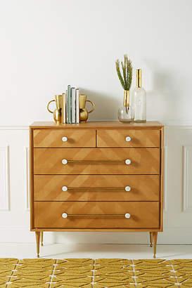 Anthropologie Nelson Five-Drawer Dresser