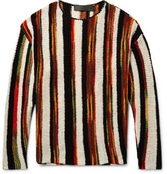 Rola Rasta Striped Cashmere Sweater