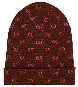 f0022c73168 ... at Barneys New York · Gucci Men s GG Logo Alpaca-Wool Beanie - Brown