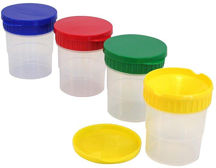 Melissa & Doug Spill Proof Paint Cups - Set of 4