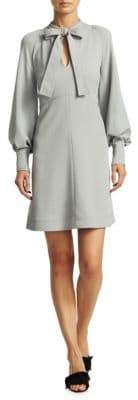 See by Chloe Crepe Ribbon Mini Dress