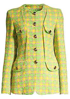 Escada Women's Collarless Tweed Jacket