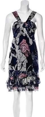 Diane von Furstenberg Pilar Floral Print Dress w/ Tags