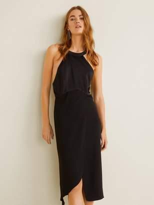 ebdf9c717e39ff Mango Asymmetric Dress - ShopStyle UK