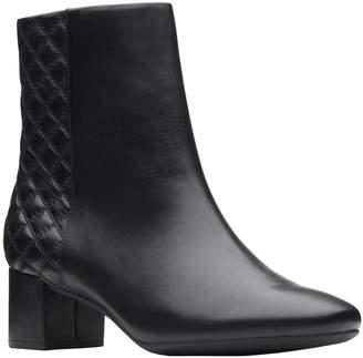 Clarks Artisan Block Heel Booties - Tealia Luck