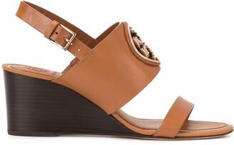 Tory Burch Metal Miller wedge shoes