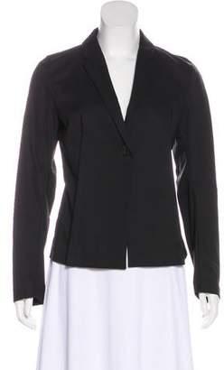 Calvin Klein Collection Notch-Lapel Button-Up Blazer