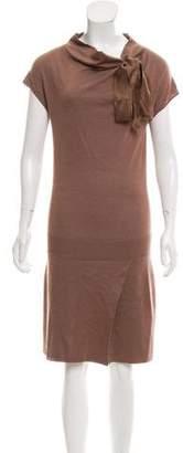 Alberta Ferretti Silk & Cashmere Dress