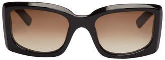 Acne Studios Black Anitha Degrade Sunglasses