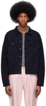 Paul Smith Navy Four-Pocket Work Jacket