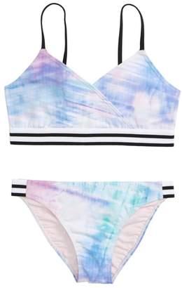 Zella Retro Two-Piece Swimsuit
