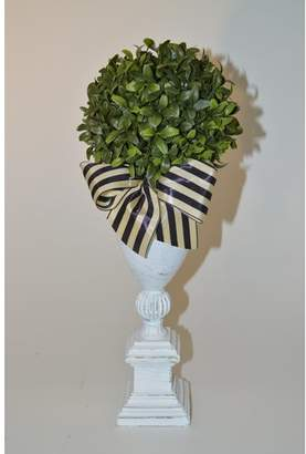 The French Bee Boxwood Topiary in Urn Base