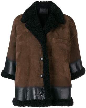 Prada swing jacket