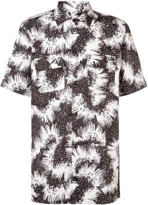 Givenchy printed short sleeve shirt