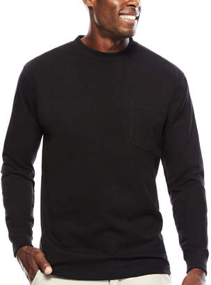 Smith Workwear Smith's Workwear Pocket Crew Neck Tee With Gusset Long Sleeve