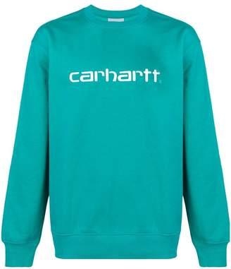 Carhartt Heritage front logo sweater
