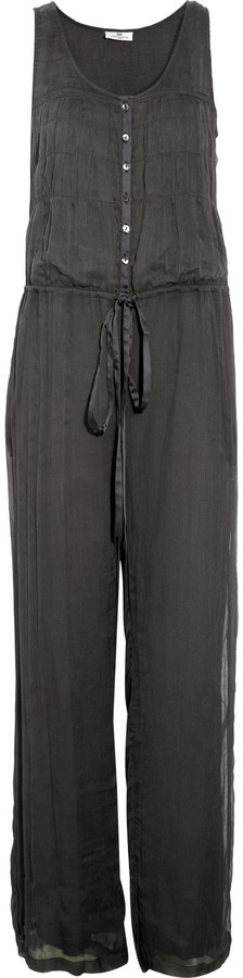 DAY Birger et Mikkelsen Ofelia pleated chiffon jumpsuit