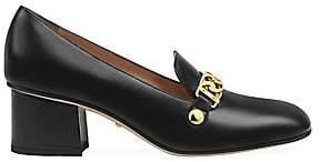 Gucci Women's Sylvie Leather Pumps