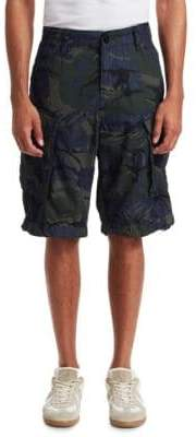 G Star Relaxed Fit Camouflage Cargo Shorts