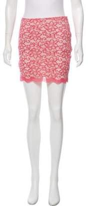 Bec & Bridge Lace Mini Skirt