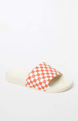 Vans Women's Peach Slide-On Sandals