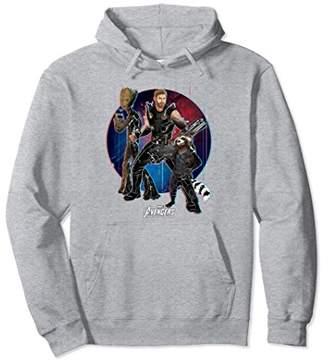 Marvel Avengers Infinity War Groot Trio Graphic Hoodie