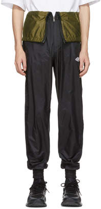 D.gnak By Kang.d Black Waist Flap Lounge Pants