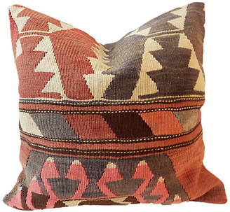 One Kings Lane Vintage Old Caucasian Tribal Kilim Pillow