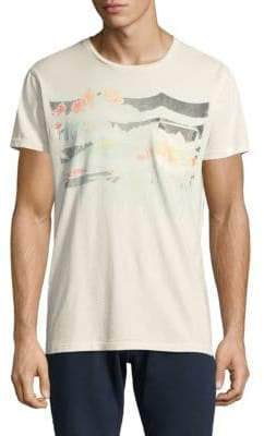 Sol Angeles Floral Waves Cotton Tee