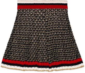 Lurex blend skirt with Web $890 thestylecure.com