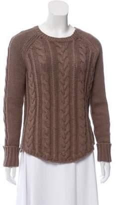 Brochu Walker Crew Neck Cable Knit Sweater