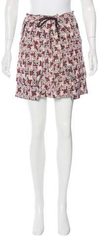 Marni Marni Printed Mini Skirt