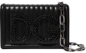 Dolce   Gabbana Girls Crystal-embellished Quilted Leather Shoulder Bag 9e43504f0bc85