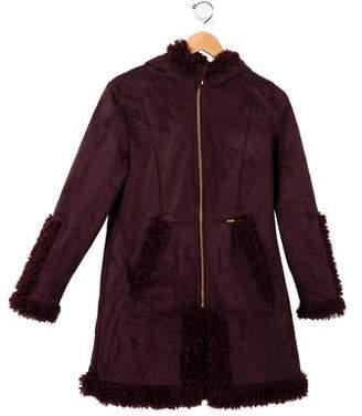 Jean Paul Gaultier Girls' Textured Zip-Up Jacket