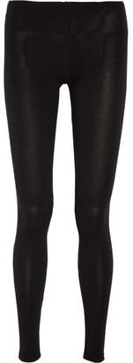 Splendid Stretch-jersey Leggings - Black