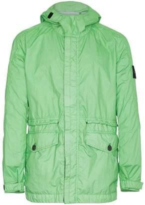 Stone Island Green hooded jacket