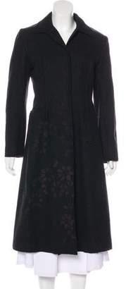 Philosophy di Alberta Ferretti Floral Wool Coat