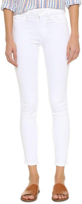 PAIGE Hoxton Ankle Skinny Jeans $189 thestylecure.com