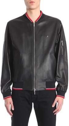 Christian Dior Leather Bomber Jacket