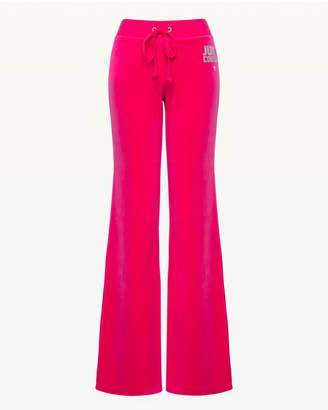 Juicy Couture Crystal Starburst Velour Del Rey Pant