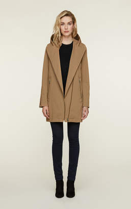 Soia & Kyo LYA water-repellent trench coat with detachable quilted vest