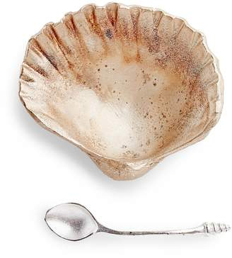 ABC Home Gold Seashell Salt Dish