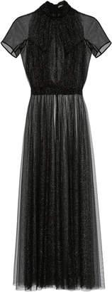 Emilia Wickstead Gabriel Metallic Tulle Dress