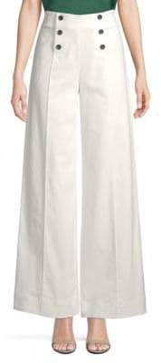 Robert Rodriguez High-Waist Wide-Leg Pants