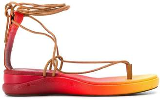 Chloé two tone sandals