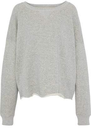 Simon Miller Mélange French Cotton-Terry Sweatshirt