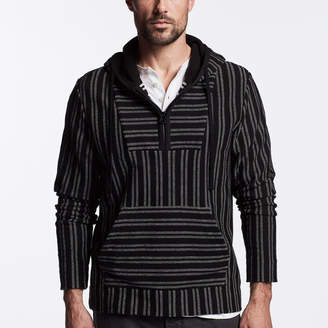 James Perse BAJA HOODED PULLOVER